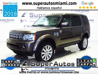 2012 Land Rover LR4 LUX with 3rd Row Seats in Doral, FL 33166