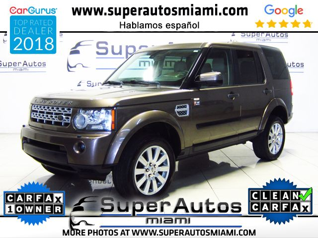 2012 Land Rover LR4 LUX with 3rd Row Seats