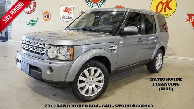 2012 Land Rover LR4 HSE LUX SUNROOF,NAV,BACK-UP CAM,HTD LTH,3RD ROW,64K!