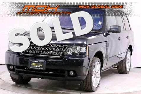 2012 Land Rover Range Rover HSE LUX - Service Records - Rear DVD - Cameras in Los Angeles