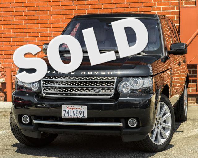 2012 Land Rover Range Rover SC Burbank, CA