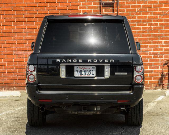 2012 Land Rover Range Rover SC Burbank, CA 6