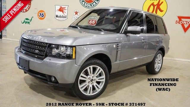 2012 Land Rover Range Rover HSE LUX ROOF,NAV,360 CAM,HTD/COOL LTH,59K!