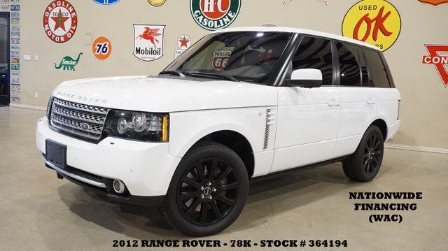 2012 Land Rover Range Rover SC ROOF,NAV,360 CAM,HTD/COOL LTH,78K