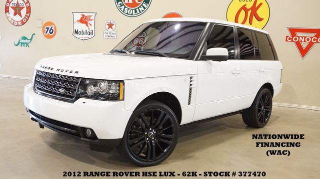 2012 Land Rover Range Rover HSE LUX ROOF,NAV,360 CAM,HTD/COOL LTH,63K