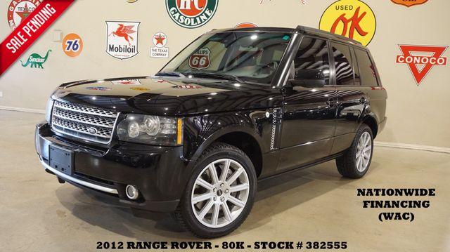 2012 Land Rover Range Rover SC ROOF,NAV,360 CAM,HTD/COOL LTH,83K in Carrollton TX, 75006