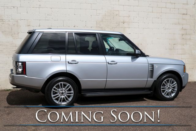 2012 Land Rover Range Rover HSE 4x4 Luxury SUV with 5.0L V8, Touchscreen Nav, Heated Seats, Moonroof & Tow Pkg in Eau Claire, Wisconsin 54703