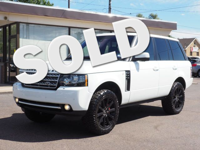 2012 Land Rover Range Rover SC Englewood, CO