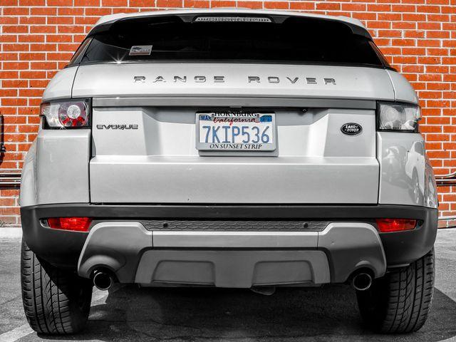 2012 Land Rover Range Rover Evoque Pure Premium Burbank, CA 3