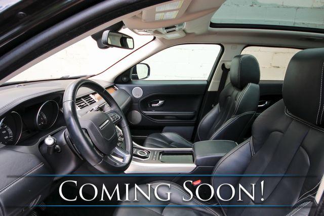 2012 Land Rover Range Rover Evoque AWD w/Prestige Premium Pkg, Panoramic Glass Roof, Nav and Premium Audio in Eau Claire, Wisconsin 54703
