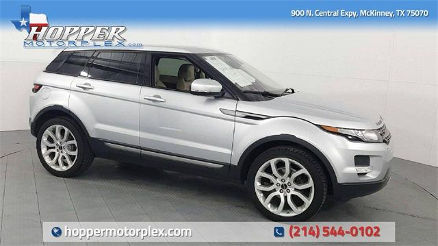 2012 Land Rover Range Rover Evoque Pure Plus in McKinney, Texas 75070