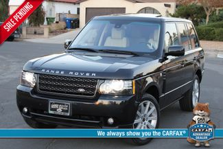 2012 Land Rover RANGE ROVER HSE LUXURY NAVIGATION SERVICE RECORDS in Woodland Hills CA, 91367