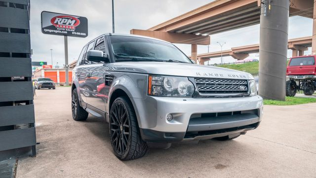 2012 Land Rover Range Rover Sport HSE LUX with Upgrades