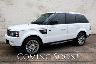 2012 Land Rover Range Rover Sport 4x4 HSE V8 Luxury SUV w/Nav, Backup Cam, Heated Front/Rear Seats and Moonroof in Eau Claire, Wisconsin 54703