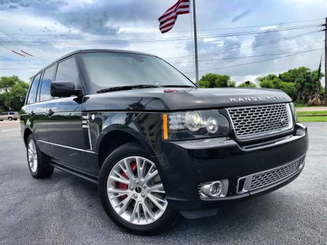 2012 Land Rover Range Rover AUTOBIOGRAPHY SUPERCHARGED $130K NEW CARFAX in , Florida