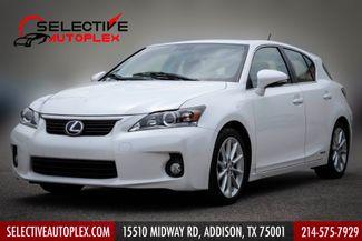 2012 Lexus CT 200h Premium, Sunroof, Heated Seats, Bluetooth in Addison, TX 75001