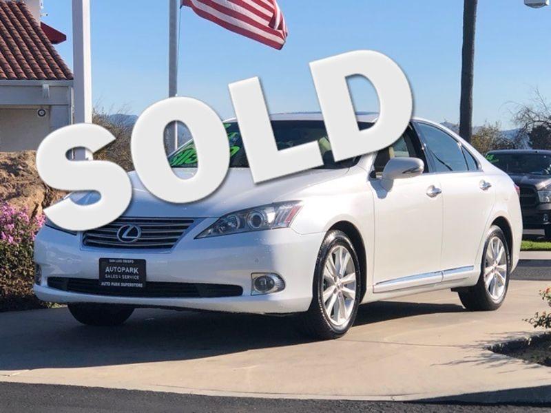 2012 Lexus ES 350 350 | San Luis Obispo, CA | Auto Park Sales & Service in San Luis Obispo CA