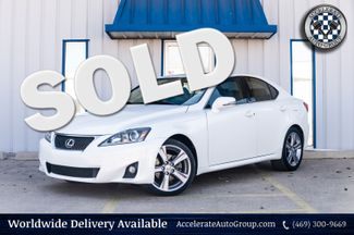 2012 Lexus IS 250 NAV LEATHER SUNROOF LOADED CLEAN CARFAX 2 OWNERS in Rowlett