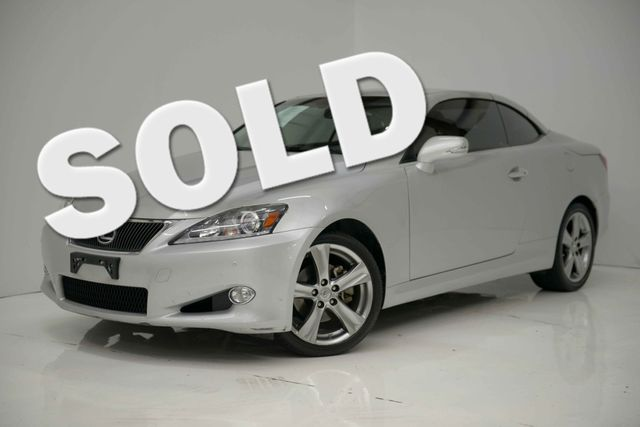 2012 Lexus IS 250C CONVT Houston, Texas 0