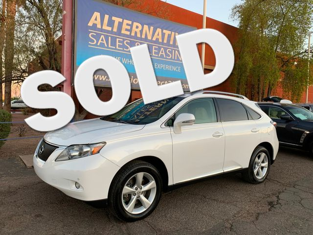 2012 Lexus RX 350 AWD  3 MONTH/3,000 MILE NATIONAL POWERTRAIN WARRANTY Mesa, Arizona