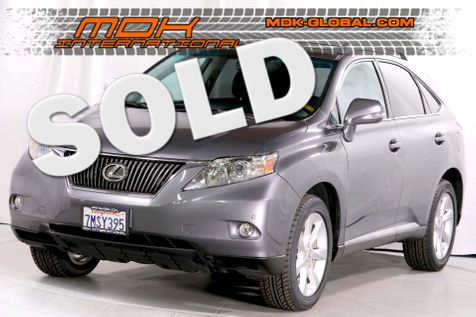 2012 Lexus RX 350 - Premium - New tires - Nav - Back up camera in Los Angeles