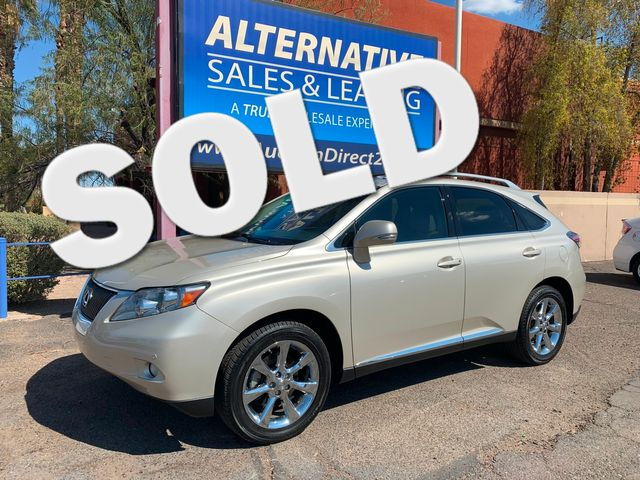 2012 Lexus RX 350 3 MONTH/3,000 MILE NATIONAL POWERTRAIN WARRANTY Mesa, Arizona