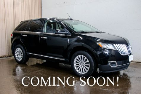 2012 Lincoln MKX AWD Crossover w/Heated & Cooled Seats, Keyless Start, Bluetooth Audio & 18