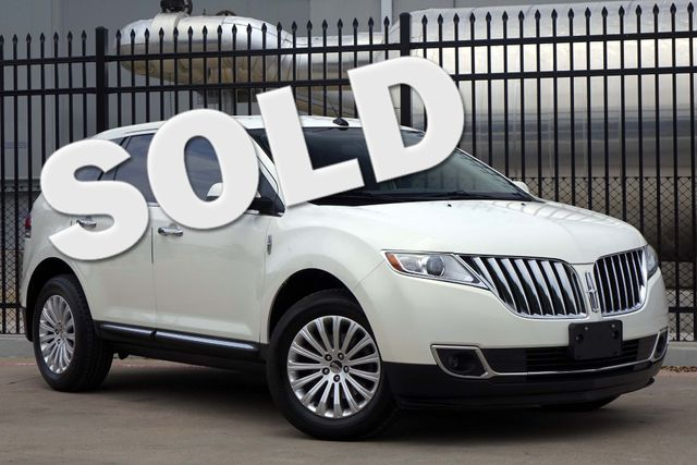 2012 Lincoln MKX A/C Seats * KEYLESS * Pwr Liftgate * REMOTE START Plano, Texas