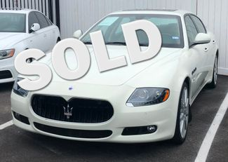 2012 Maserati Quattroporte S Houston, Texas