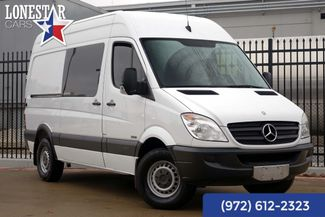 2012 Mercedes-Benz 2500 Sprinter Van Diesel High Roof Clean Carfax One Owner in Plano Texas, 75093