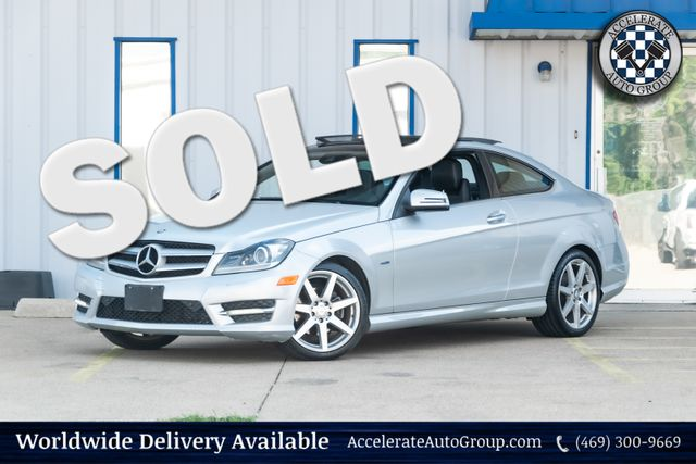 2012 Mercedes-Benz C 250 Coupe in Rowlett