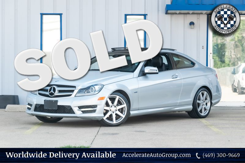 2012 Mercedes-Benz C 250 Coupe in Rowlett Texas