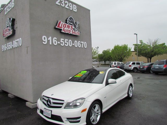 2012 Mercedes-Benz C 250 Sharp in Sacramento, CA 95825