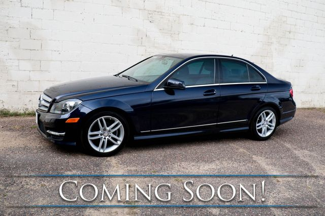 2012 Mercedes-Benz C300 Sport 4MATIC AWD Luxury Car with Nav, Backup Cam, Moonroof, Heated Seats & Premium Audio in Eau Claire, Wisconsin 54703