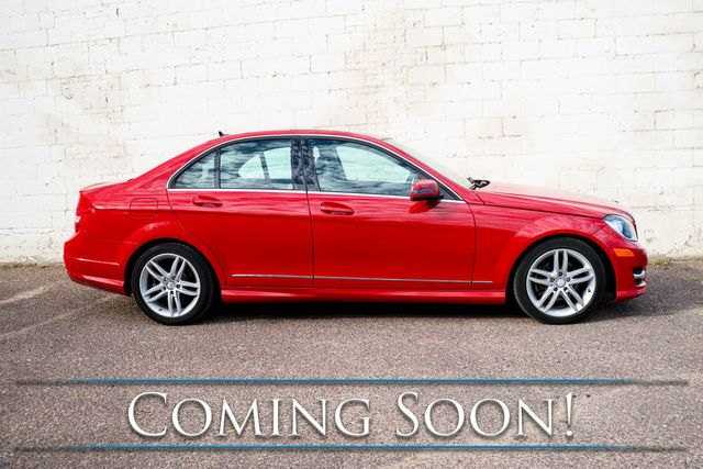 2012 Mercedes-Benz C300 Sport 4Matic AWD w/Navi, Backup Cam, Heated Seats, Moonroof and Bluetooth Audio in Eau Claire, Wisconsin 54703