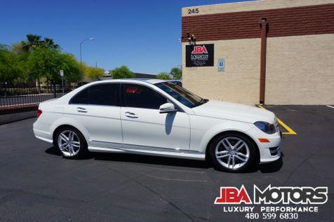 2012 Mercedes-Benz C300 Sport Package C Class 300 4Matic AWD Sedan w/ NAVI | MESA, AZ | JBA MOTORS in MESA, AZ