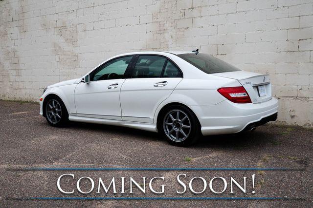 2012 Mercedes-Benz C300 Sport 4Matic AWD w/Navigation, Heated Seats & Harman/Kardon Audio in Eau Claire, Wisconsin 54703