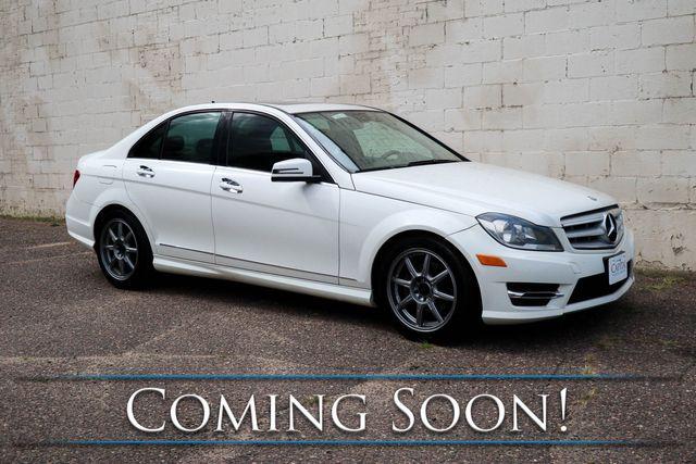 2012 Mercedes-Benz C300 Sport 4Matic AWD w/Navigation, Heated Seats & Harman/Kardon Audio