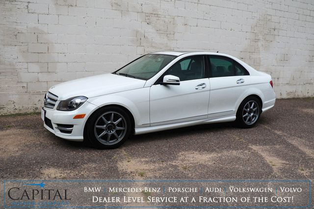 2012 Mercedes-Benz C300 Sport 4Matic AWD w/Navigation, Heated Seats & Harman/Kardon Audio in Eau Claire, Wisconsin 54703