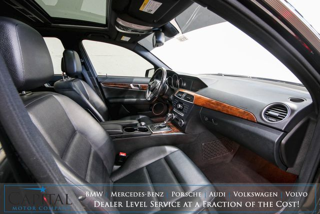 2012 Mercedes-Benz C300 Sport 4MATIC AWD w/Navigation, Backup Cam, Heated Seats, Moonroof & Bluetooth Audio in Eau Claire, Wisconsin 54703