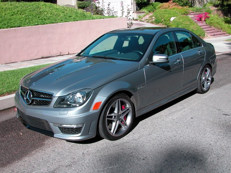 2012 Mercedes-Benz C63 AMG, Development Package in , California