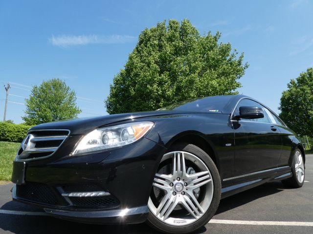2012 Mercedes-Benz CL550 4MATIC Leesburg, Virginia 8