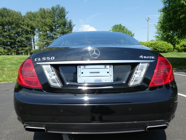 2012 Mercedes-Benz CL550 4MATIC Leesburg, Virginia 4