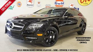 2012 Mercedes-Benz CLS 550 ROOF,NAV,BACK-UP,HTD/COOL LTH,BLK WHLS,48K! in Carrollton TX, 75006