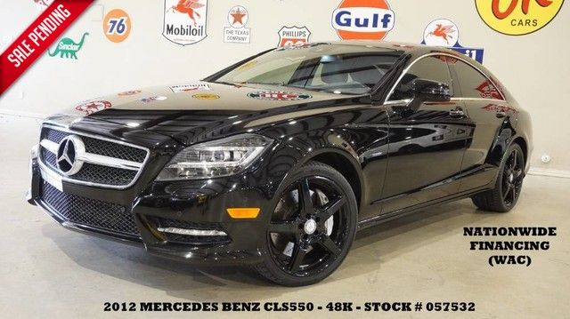 2012 Mercedes-Benz CLS 550 ROOF,NAV,BACK-UP,HTD/COOL LTH,BLK WHLS,48K!