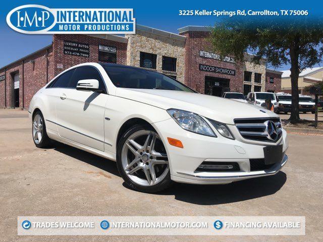 2012 Mercedes-Benz E 350 Coupe in Carrollton, TX 75006