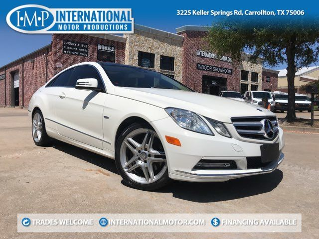 2012 Mercedes-Benz E 350 Coupe