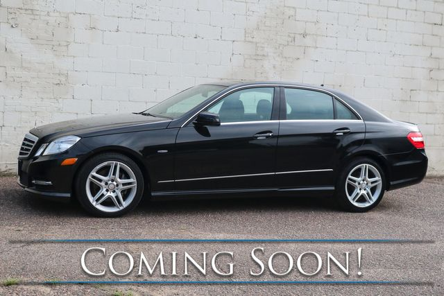 2012 Mercedes-Benz E350 Sport 4MATIC AWD w/Navigation, Backup Cam, Panoramic Roof and Harman/Kardon Audio in Eau Claire, Wisconsin 54703