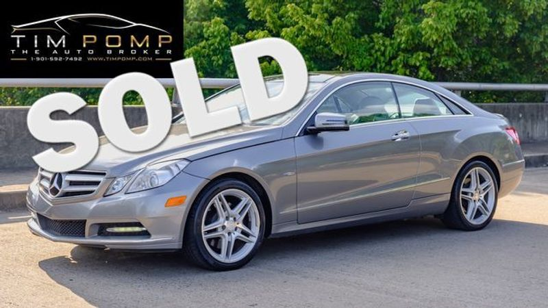2012 Mercedes-Benz E 350    Memphis, Tennessee   Tim Pomp - The Auto Broker in Memphis Tennessee