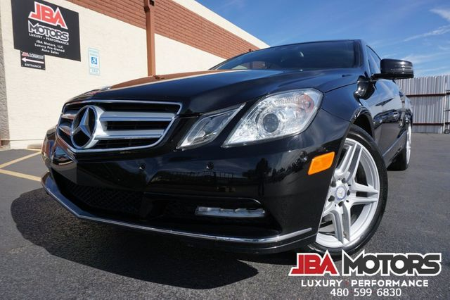 2012 Mercedes-Benz E350 Coupe E Class 350 Launch Package AMG Sport Package
